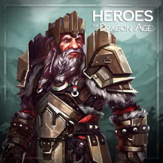 Promotional image of King Endrin Aeducan in the Guardians hero pack of the <i><a href=