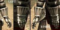 Blood Dragon Gauntlets