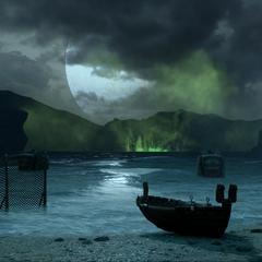 The rift beneath the lake