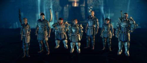 Grey Wardens Awakening Party Select