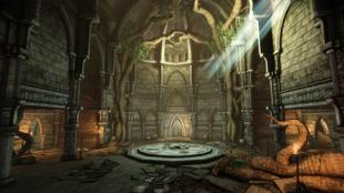 Ruins Upper Level - entrance hall