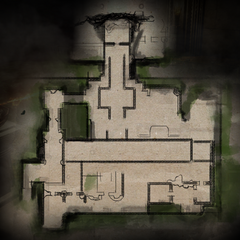 Temple of Mythal Lower Level Map