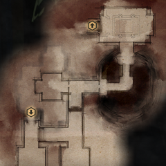 Redcliffe Castle South Dungeon Map