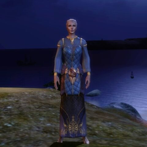 Apprentice Robes on female elves