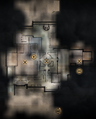 Winter Palace Servants Quarters and Grand Apartments Main Level Map.png