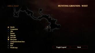 Drakevein Map