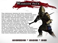 DA2 Item Pack 1 - Warrior