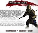 Warrior Item Pack