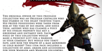 Warrior Item Pack