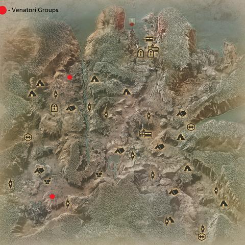 The Venatori Groups in the Hinterlands