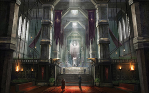 Viscount's Keep concept art