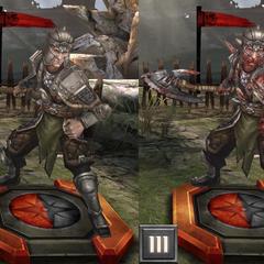 Tier progression of a Cultist Reaver in <i><a href=