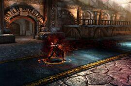Casting Blood Magic