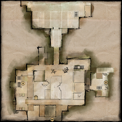 Upper Crypts Map
