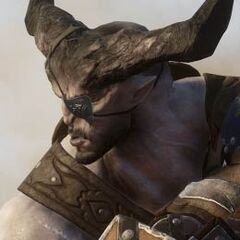 Iron Bull's profile on the official Dragon Age: Inquisition website