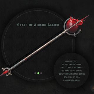 Staff of Aidahn Allied
