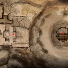 Map - inside the keep
