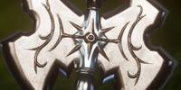 Engraved Battleaxe