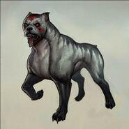 Mabari hound concept art