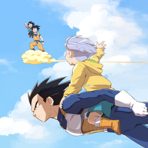 File:Vegeta, Trunks, Goten, Goku.jpg