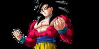 Goku Super Saiyajin 4
