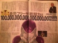 Golden Frieza 100 quintillion