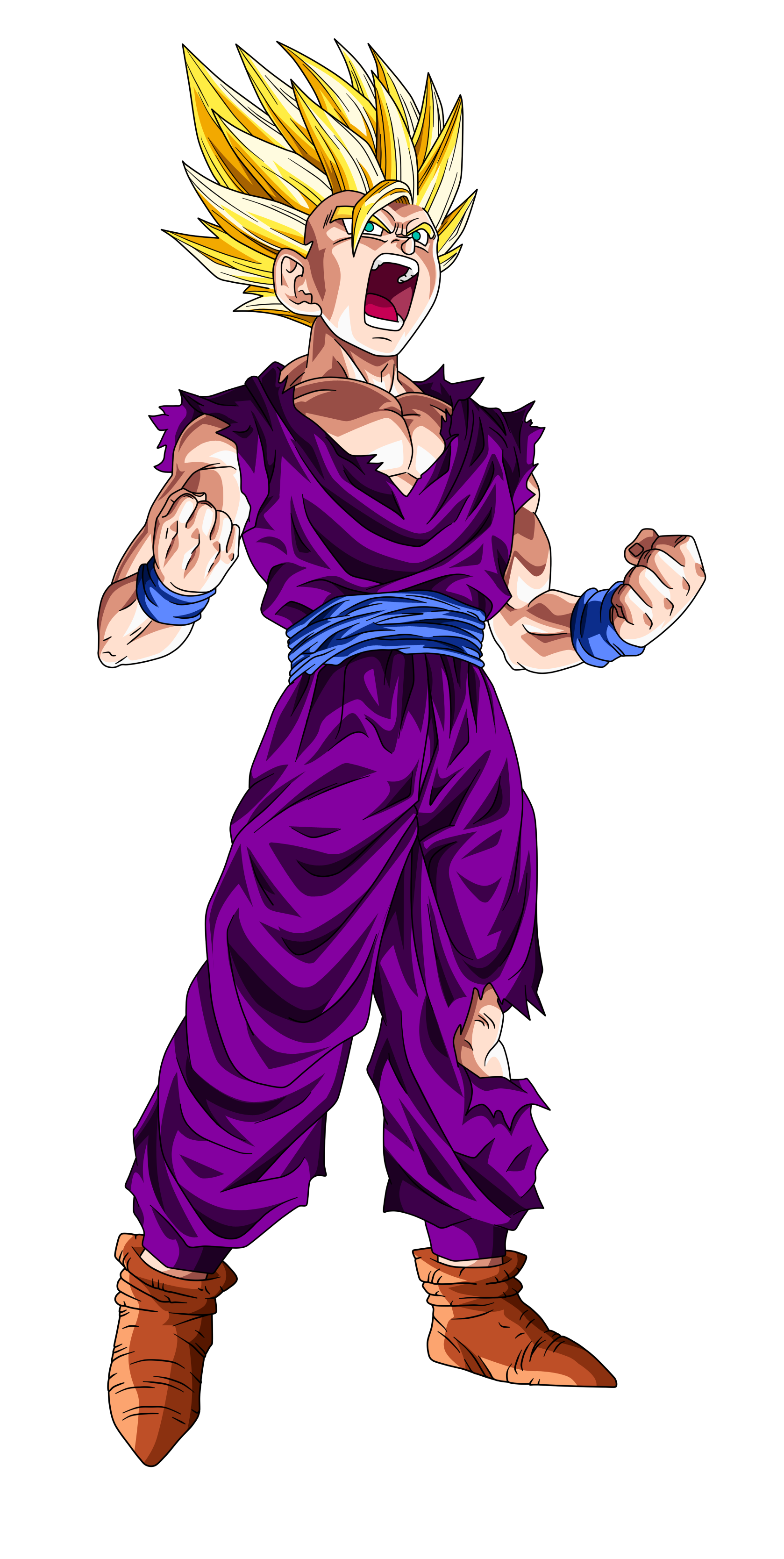 Gohan super saiyajin 2 dragon ball wiki fandom powered - Dragon ball z gohan images ...