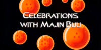 Celebrations with Majin Buu