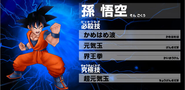 File:Goku Ultimate Butoden.jpg