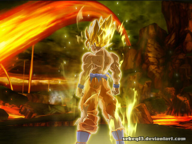 File:Goku wallpaper by sEbeQ13.jpg