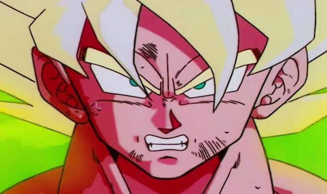 Dragon Ball z Angry Super Saiyan Super Saiyan Goku Angry at