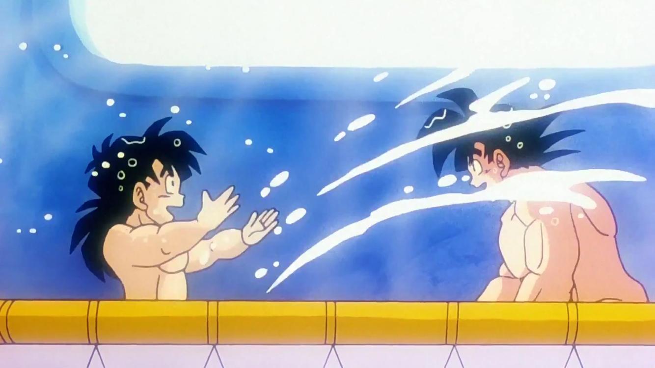 Dragon Ball Z Bathroom Of Image Dragon Ball Wiki Fandom Powered