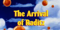 The Arrival of Raditz