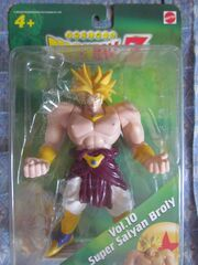 Dragonball-broly-yellow-vol10-super-battle-collection-bandai mattel