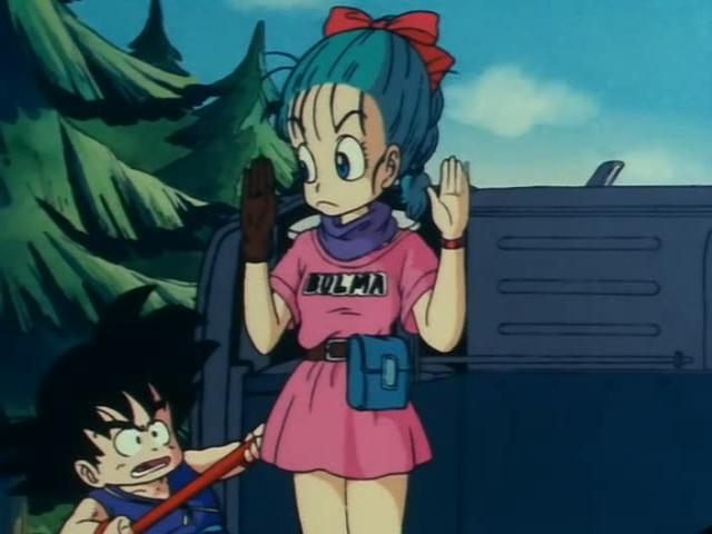 File:Goku looking at Bulma to make sure shes a human.jpg