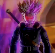 Dark Future Trunks demigra saga