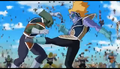 Frieza's soldier kicks comrade after Piccolo flies up HD, Resurrection 'F', IsraeliteVIP pic snap