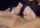 Gohan fells to ground