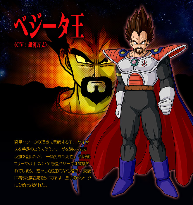 Vegeta vs King Vegeta King Vegeta in Dragon Ball z