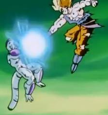 File:Approaching Destruction - Goku attacks Frieza.PNG