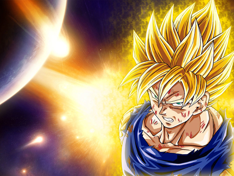 Dragon Ball z Kai Goku Super Saiyan 1000 Games i Say Super Saiyan 4 is