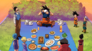 DBS Goku eating scene 3213123