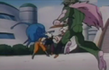 Gohan gets punched in the face