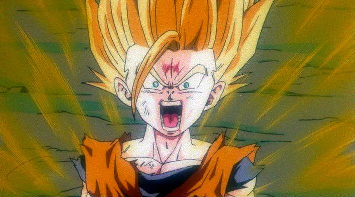 Image - Bojack - Gohan turns Super Saiyan 2.jpg | Dragon ...  Gohan Ssj2 Vs Bojack