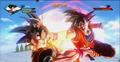 Xenoverse - Super God Fist on Goku