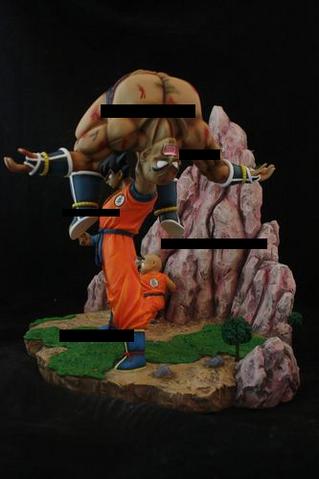 File:Diorama Nappa v Goku.PNG