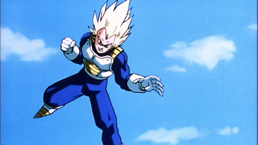 Future Vegeta Future Vegeta transformed into