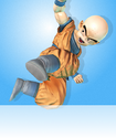 Krillin in Zenkai Battle