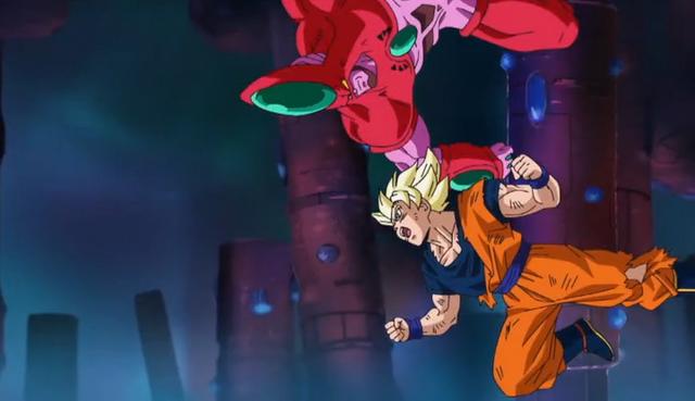 File:PTETS - Hatchiyack evades Goku.png