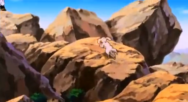 File:The Old Kai's Weapon - Bee runs for Buu.PNG